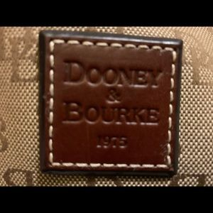 Authentic Dooney & Bourke Small nylon shoulder bag